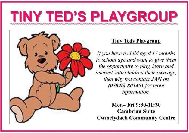 Tiny Teds Playgroup @ Cambrian Suite